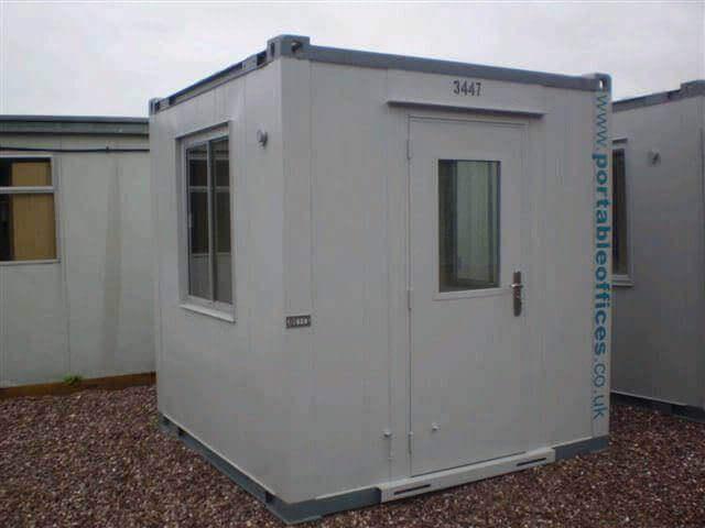 8ft X 8ft Portable Office Gatehouse Unit Ref Gatehouse