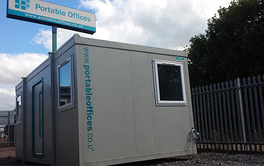 20ft Open Plan Portable Office – unit ref 5373