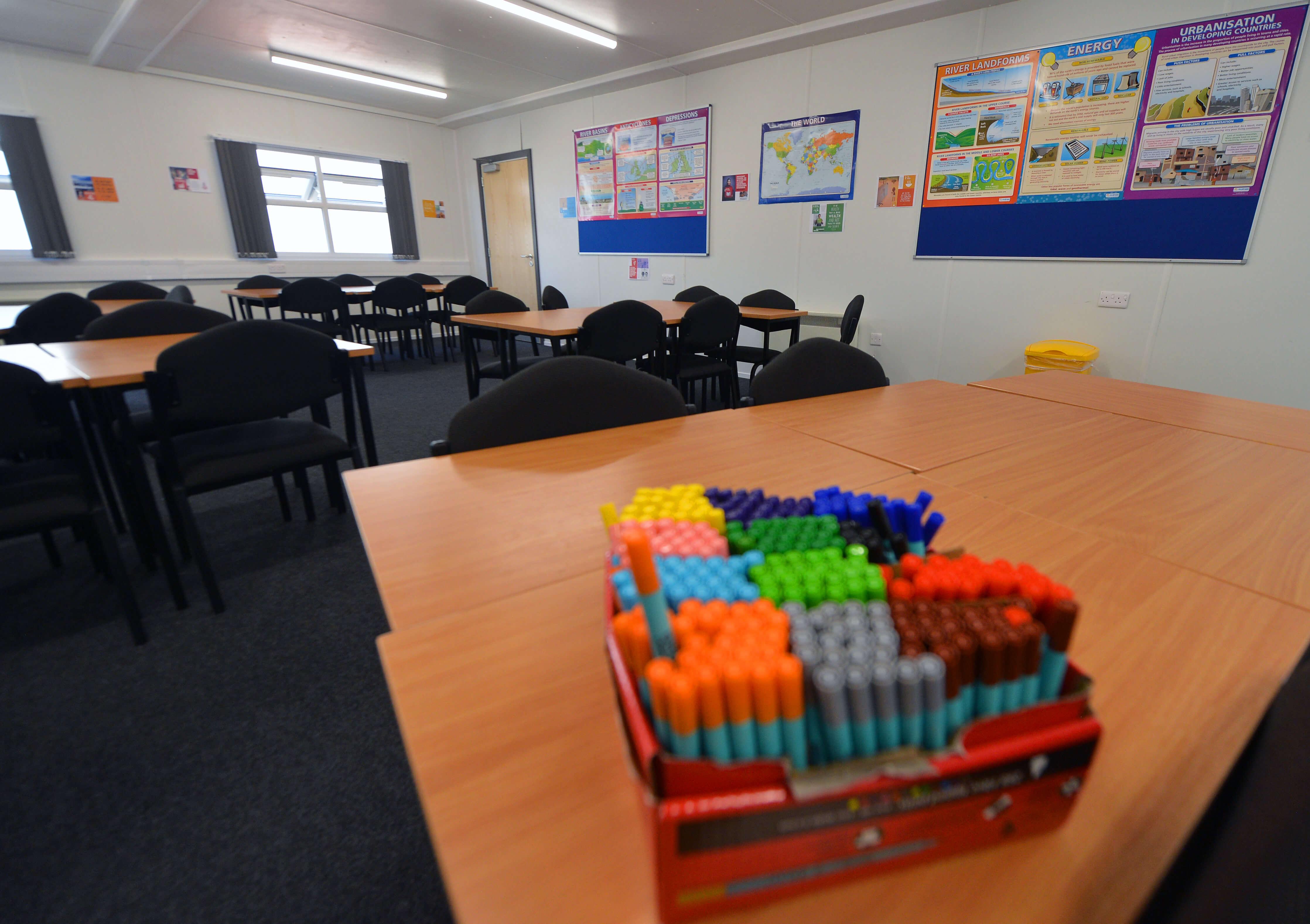 Modular Classroom Cerritos College ~ Modular building double classroom unit ref