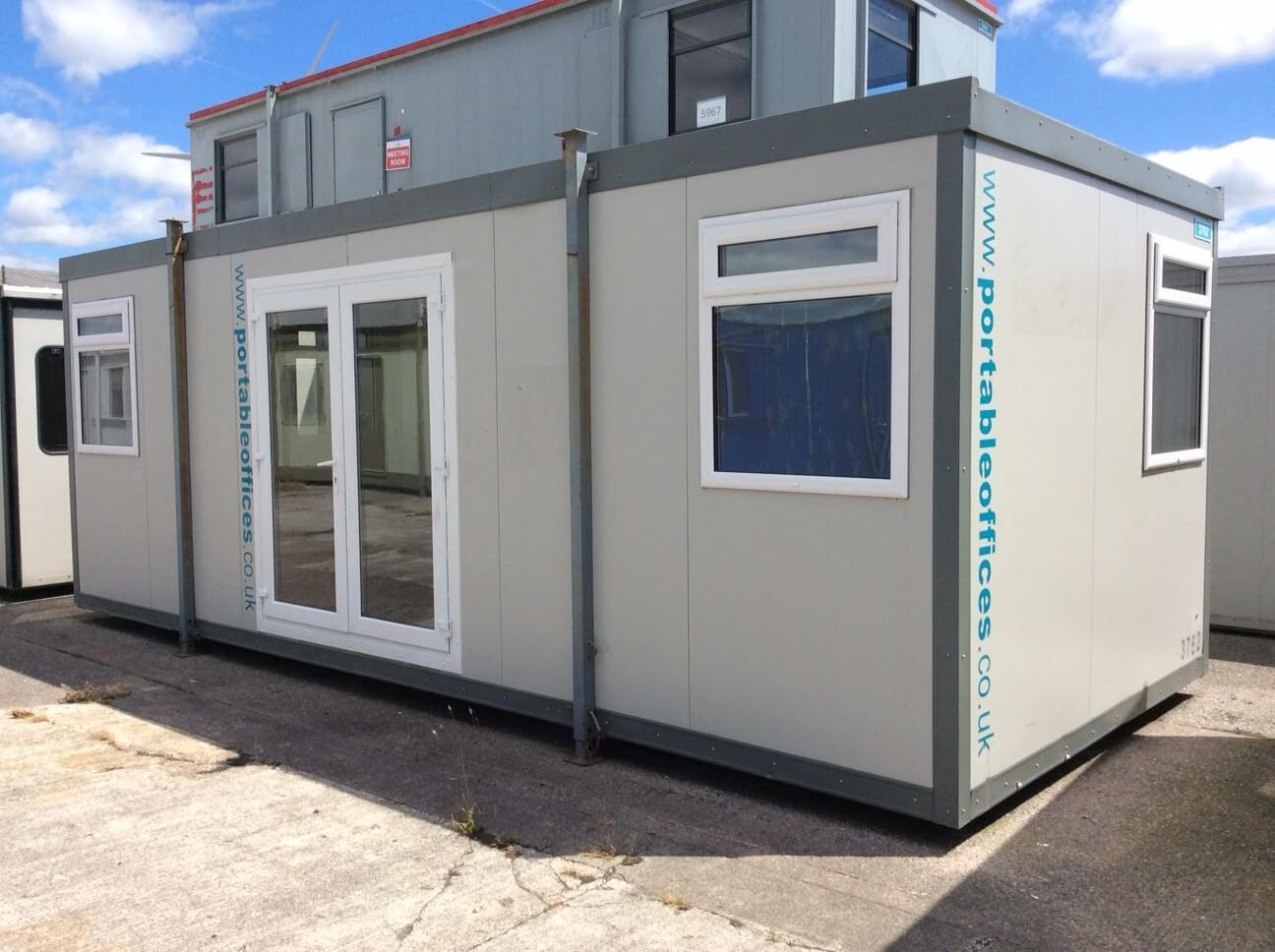 Upvc Front Elevation : Ft portable building unit ref