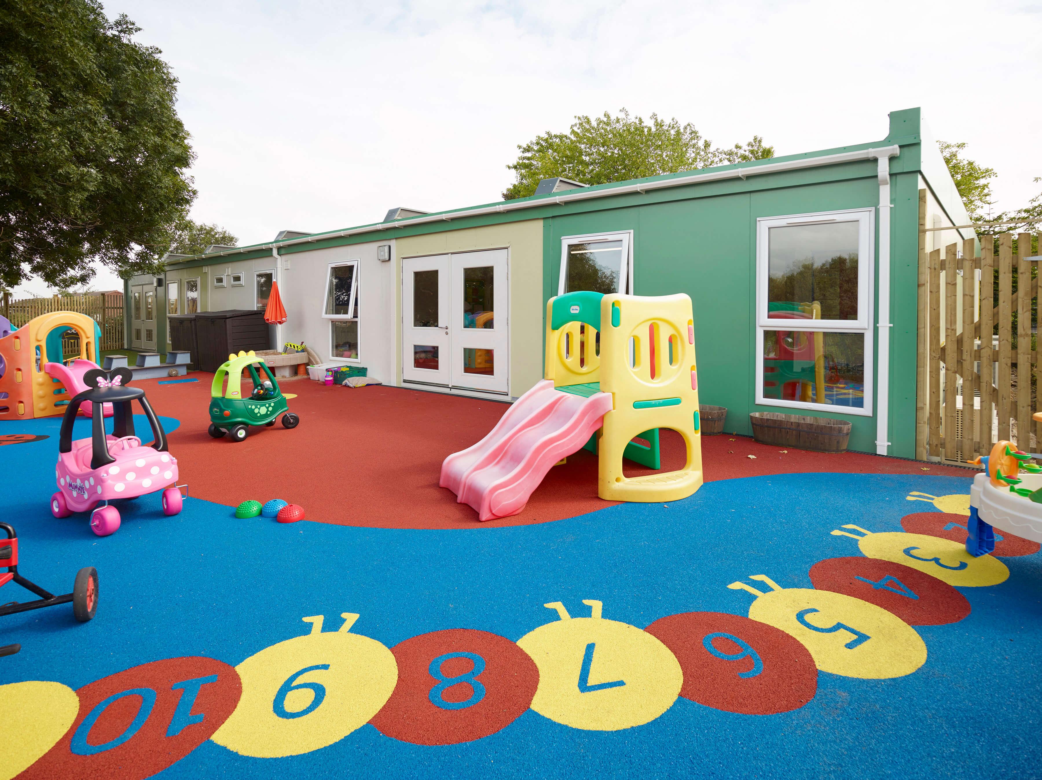 Mobile Nursery Modular Building Unit Ref 5565