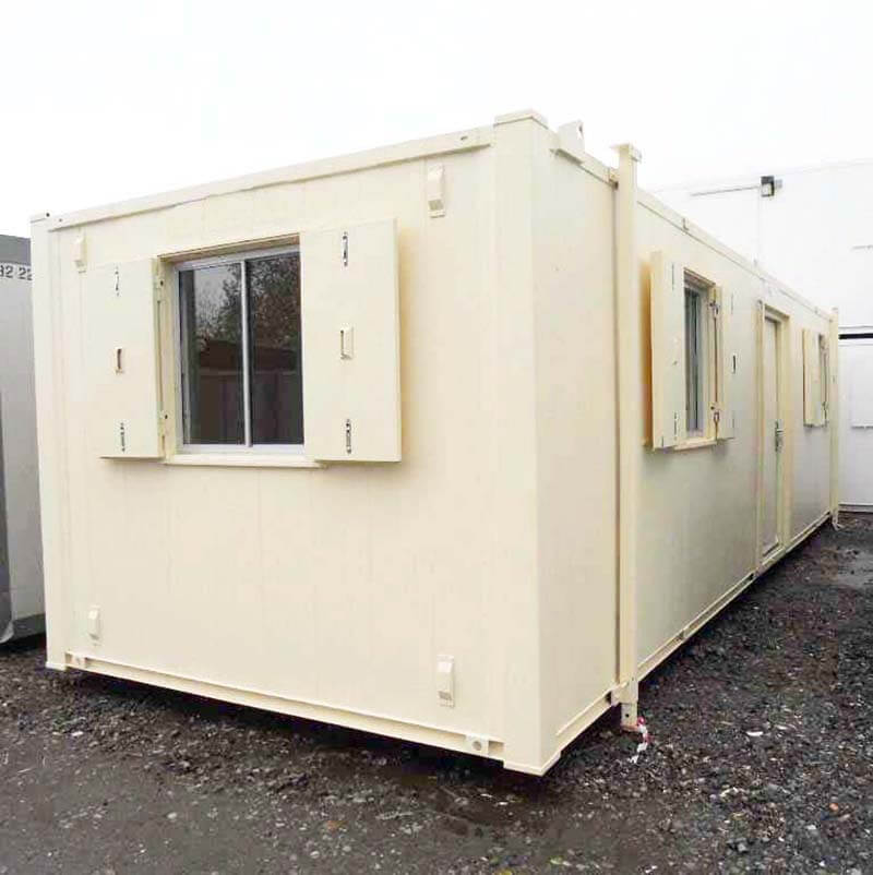 secure temporary building