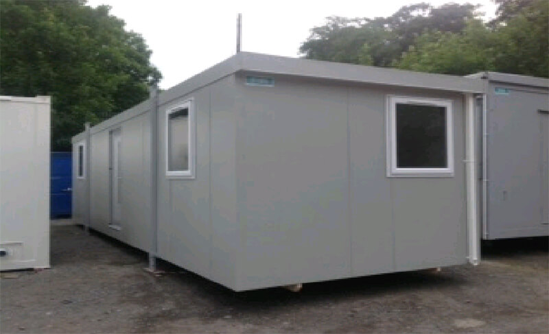 open plan portable office