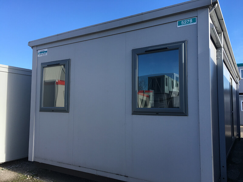 double glazed portable office