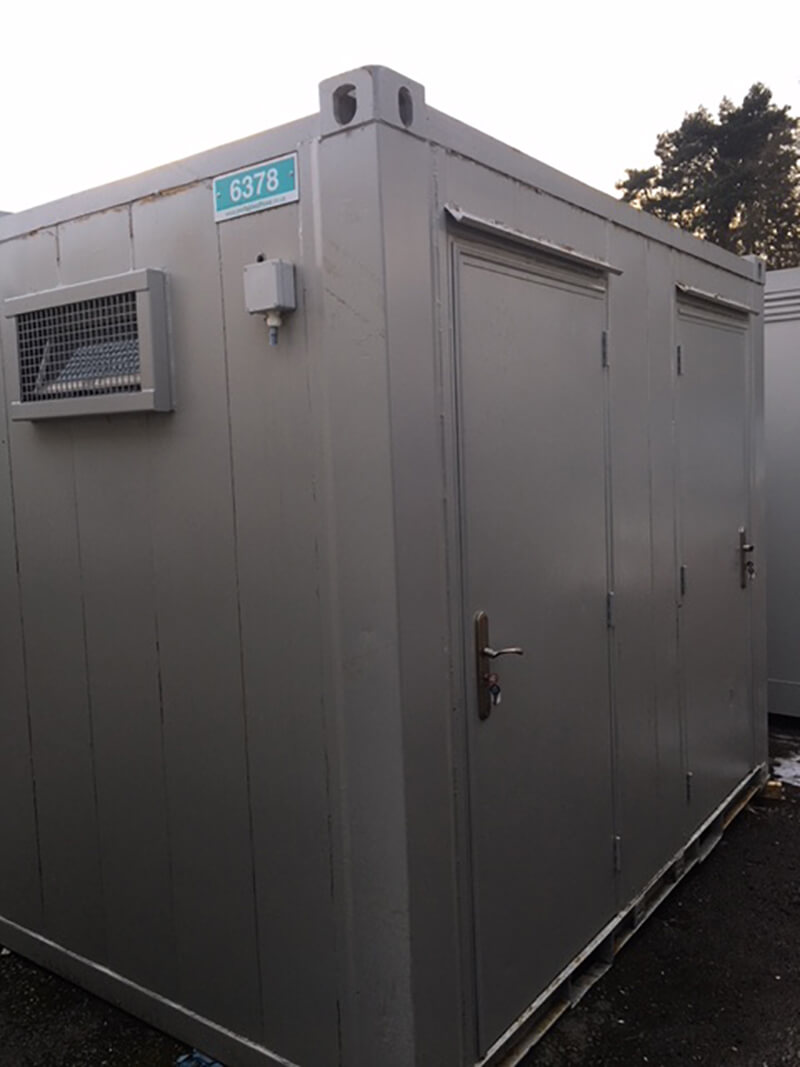 secure toilets